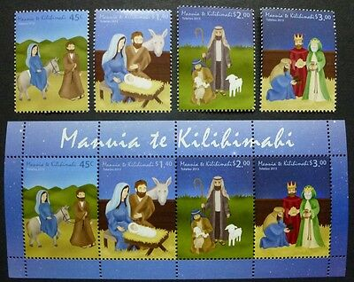 Tokelau 2013 Weihnachten Christmas Religion 441-444 Block 52 MNH