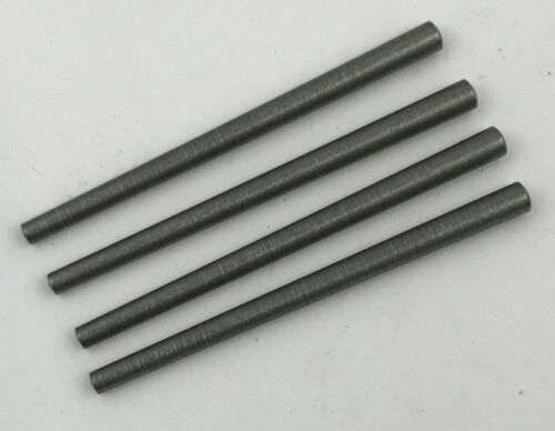 Taper pins #2/0x2 0.141 large end x 0.100 small end, stainless steel