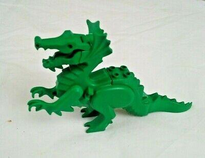 Vintage Lego Green Dragon, Castle set Figure
