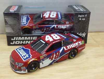 NASCAR 2016 JIMMIE JOHNSON  #48 LOWES RED VEST CHEVY 1/64 CAR