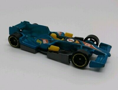 Used, CANDY AQUA 2013 Hot Wheels F1 RACER #129 - HW Racing #1 die cast for sale  Kannapolis