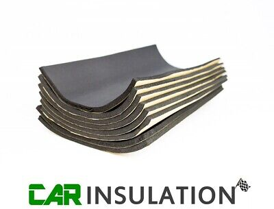 Car Parts - 8 Pro Large Closed Cell Foam Sheets Car Sound Proofing Deadening Insulation 10mm