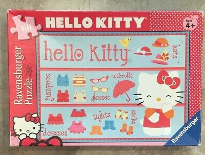 Hello Kitty 60 Piece Ravensburger Accessories Jigsaw Puzzle Ages 4+