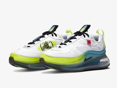 Nike Air Max MX-720-818 WORLDWIDE (GS) Youth CD4392-100 White UK 6 EU...