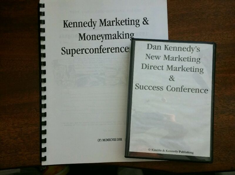 Dan Kennedy Marketing & Money Making Super Conference 6 CD Set with Manual