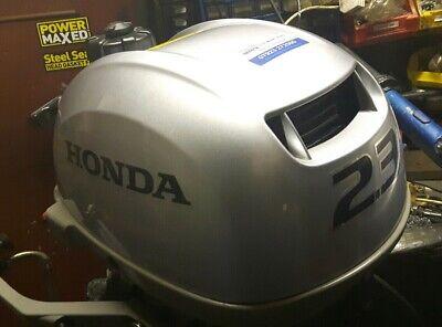 Honda 2.3hp 2017 4 stroke outboard motor serviced with warranty