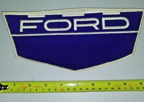 VINTAGE Embroidered Automotive Gasoline Patch UNUSED - FORD large