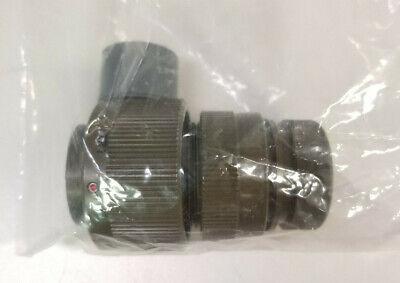 Itt Cannon Circular Mil Spec Connector Cb6n20-22ss