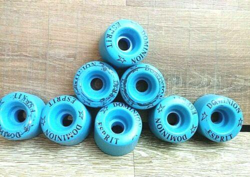 Esprit Dominion Canada blue roller skate wheels 8 wheels