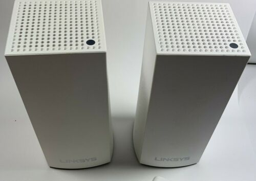 LinkSys Velop WHW01 Mesh Wifi System Dual-Band AC1300 - GOOD SHAPE - TWO PACK