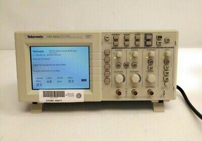Tektronix Tds 1012 100mhz 1gss 2-channel Digital Storage Oscilloscope Dso
