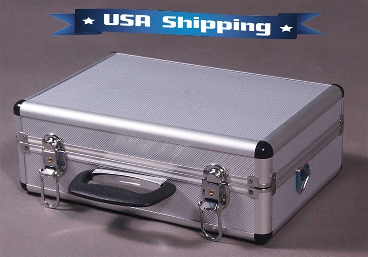 Aluminum RC Transmitter Carrying Case for Futaba JR Spektrum