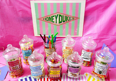 KES Party Set/Kit Sweet Shop, Bags, Bunting, Sweets, Candy (Harry Potter Kit)