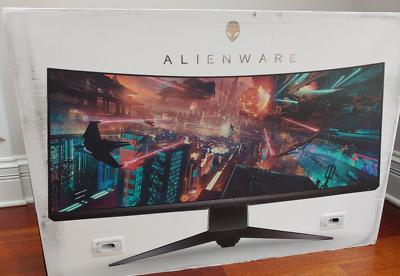 "New Dell Alienware AW3418DW 34"" 21:9 120Hz WQHD 3440x1440 Cu"