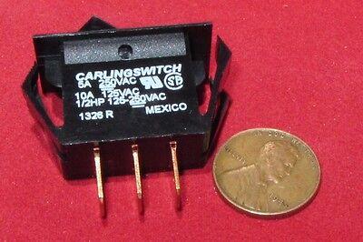 Carling Switch T Series Tb10b Momentary Rocker Spdt No Nc 10a 125vac 5a 150v