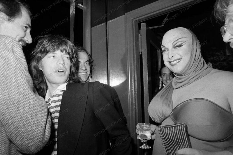 8x10 Print Mick Jagger The Rolling Stones Divine #MJ393
