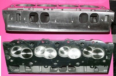 Gm Protection Plan >> NEW PAIR GM BBC CHEVY ALUMINUM CYLINDER HEADS 396 427 454 ...