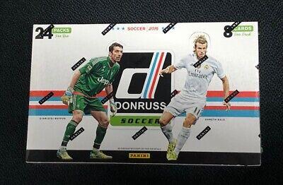 2016 Panini Donruss Soccer Brand New Factory Sealed Hobby Box