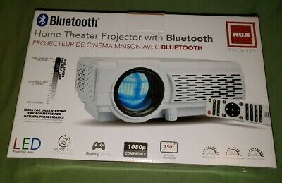 RCA 1080P LED Home Theater Projector RPJ104 W/ Bluetooth NEW ***FREE SHIPPING***