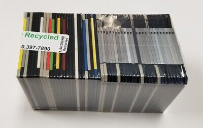 Floppy Disks.  50 Pack of  3.5 in 1.44 MB Floppy Diskettes.  Guaranteed 100%