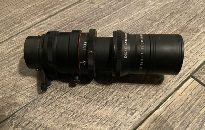 Kodak Anastigmat 63mm F/2.7 Black Lens Vintage Made In USA