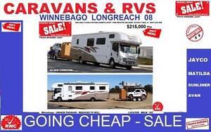 CARAVANS  & RVS -Going cheap Jayco crusader winnebagos Melbourne CBD Melbourne City Preview