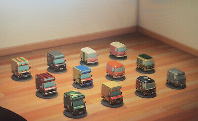 MEGA RARE Complete Set Pocket Camper Vans Nintendo Animal Crossing New Horizons