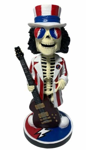 Grateful Dead Uncle Sam Bobblehead Limited Edition Individually Numbered