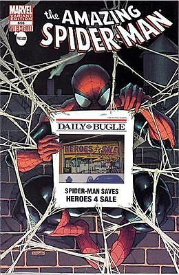 AMAZING SPIDERMAN 666 RARE HEROES 4 FOR SALE BUGLE STORE VARIANT SPIDER ISLAND