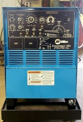 Miller Syncrowave 250 Used - Power Source Only