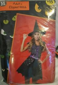 Elegant witch costume.