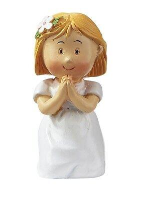 Kommunions Kind Mini Figur Kommunionkind Tortenaufsatz Konfirmation  Mädchen