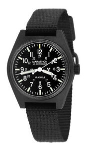 US MILITARY FIELD WATCH MARATHON 17J H3 General Purpose Mechanical Wind Up NEW