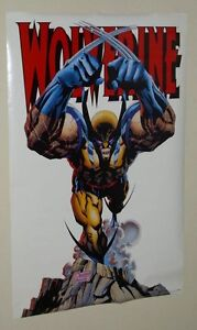 1993-Vintage-original-34-x-22-Marvel-Comics-X-Men-Logan-Wolverine-poster-1990-039-s