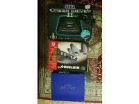 BOXED Nintendo N64 SEGAMEGADRIVE2 PS2 BUNDLE