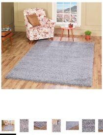 120x230 grey rug
