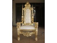 wedding chair to hire