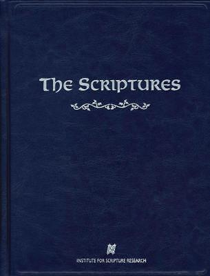 The Scriptures ISR Hardcover: Institute for Scripture Research [Brand New Bible]