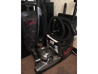 Kirby Sentria vacuum cleaner with 4 bags and shampoo kit. Great Condition!!