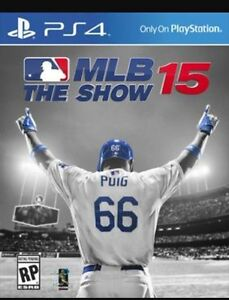 MLB 15 the show and FIFA 16 for PS4
