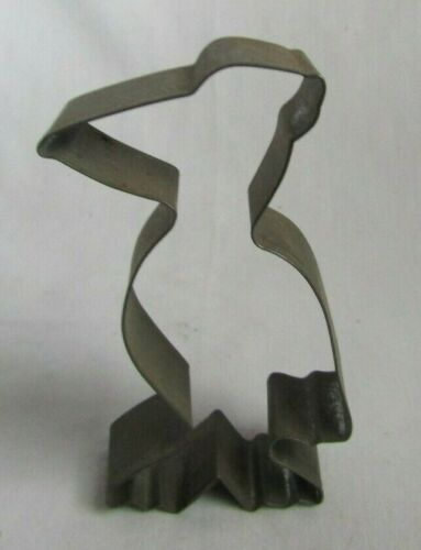 ANTIQUE HAND SOLDERED COOKIE CUTTER PINGUIN