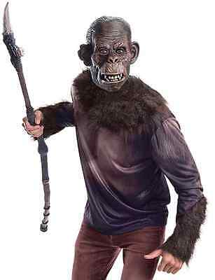 Koba Dawn Planet Apes Movie Monkey Bonobo Fancy Dress Up Halloween Adult Costume