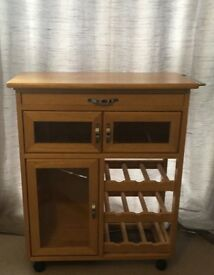 Kitchen trolley, storage table