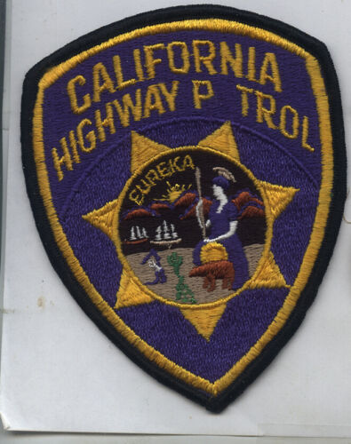 1980s Police Patch California Highway P trol