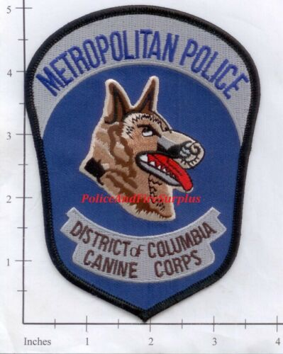 Washington DC - Metropolitan Police Canine Corps District of Columbia Patch