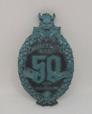 Disney Parks Disneyland Resort Haunted Mansion 50th Anniversary Magnet Brand New