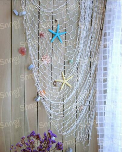 New Fashion Mediterranean Decorative Fishing Net Beach Scene