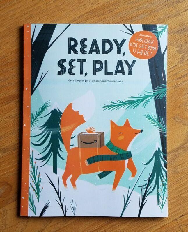 Amazon 2021 Ready Set Play Holiday Gift Kid Wish Book Toy Catalog Christmas