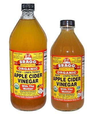 Bragg Apple Cider Vinegar - 473ml or 946ml