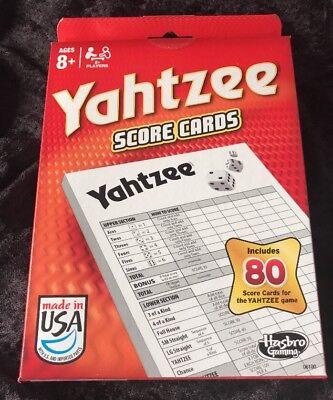 Yahtzee Score Pad Free Shipping
